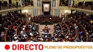 EN DIRECTO ???? CONGRESO- DEBATE PRESUPUESTOS -30/11/20 | RTVE Noticias