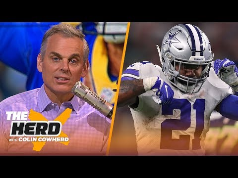 Colin Cowherd reacts to Jared Goff and Ezekiel Elliott's contract extensions | NFL | THE HERD