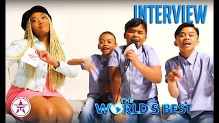 The World's Best: TNT Boys React To Ariana Grande's SURPRISE Visit + America vs Philippines