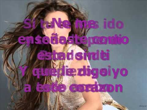 Thalia karaoke No me ensenaste.wmv