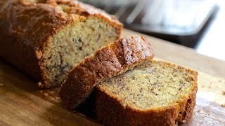 Lily's Easy and Moist Banana Bread Recipe - Hot Chocolate Hits