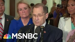 Jerrold Nadler On Holding Barr In Contempt: We Are In A 'Constitutional Crisis' | Deadline | MSNBC