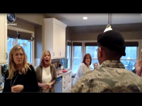 Soldiers Coming Home Surprise Compilation 2016 -Try Not To Cry Challenge