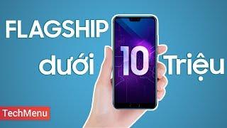 Mở hộp Honor 10: Flagship dưới 10 'củ' || TechMenu || TECHMAG