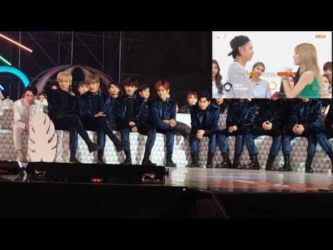Các zai nhà EXO phản ứng như thế nào khi thấy chính mình trên màn hình siêu lớn 100in  :))))