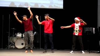 Merry Christmas at WKBC Church Action Song By (  AKAY  )