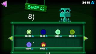 All Secret Rooms + Secret Shop Glitch! | Geometry Dash [2.1]