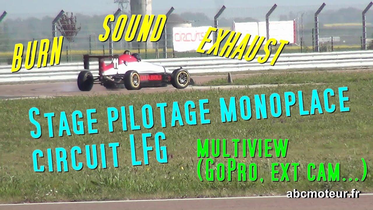 Stage pilotage monoplace Formule Renault Campus