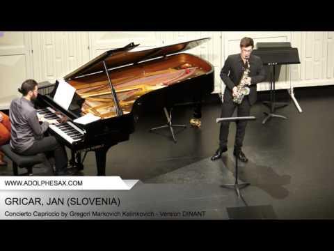 Dinant 2014 - Gricar, Jan - Concerto Capriccio by Gregori Markovich Kalinkovich