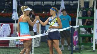 Highlights: WTA R3 - Kerber d. Puig