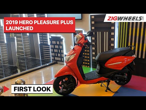 2019 Hero Pleasure+ Launched | First Look