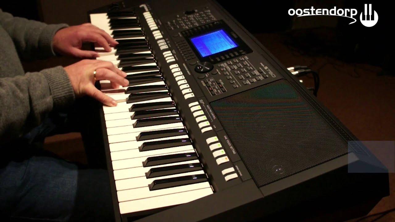 yamaha psr s750 keyboard sound demo youtube. Black Bedroom Furniture Sets. Home Design Ideas