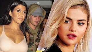 Justin Bieber STILL Sneaking Around with Kourtney Kardashian BEHIND Selena Gomez's Back!!?