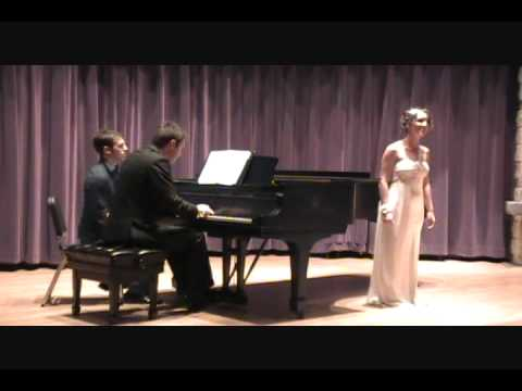 """L'Ete"" Senior vocal recital, University of Toledo Spring 2011"