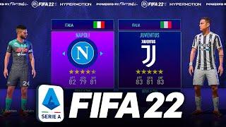🔵🔵 NAPOLI vs JUVENTUS ⚪️⚫️ su FIFA 22   Prima Partita! (Rose Stagione 2021/2022 su Fifa 21) [SePPi]
