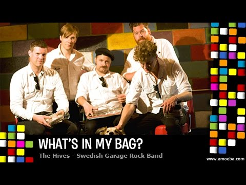 The Hives - What's In My Bag?