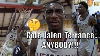 Jalen Lecque, Cole Anthony, and Terrance Clarke GET CALLED OUT by WEST OAKS ACADEMY!!! West oaks vs