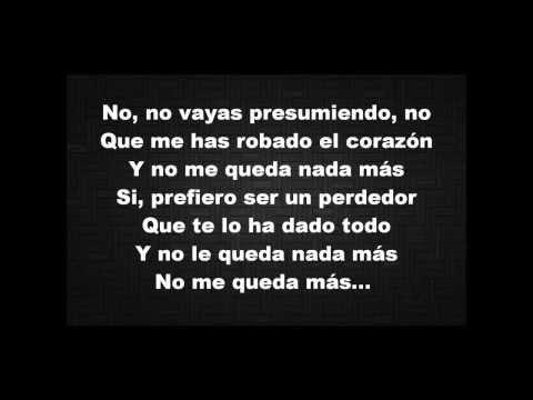 Enrique Iglesias - El Perdedor (Pop Version) ft. Marco Antonio Solís [Lyrics Video]