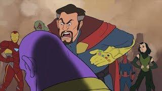 Thanos vs Avengers - Avengers Infinity War Parody Animation - MOVIE SHENANIGANS