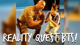 REALITY QUEST BEHIND THE SCENES FILMING W/ THE ROCK!!