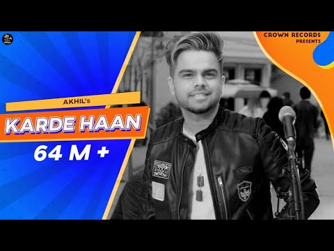 Karde Haan - AKHIL - Manni Sandhu - Official Video - Collab Creation