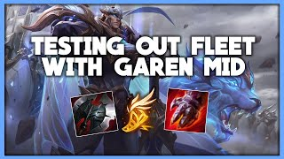 Going FLEET with GAREN MID | CHALLENGER GAREN vs Camille | League of Legends