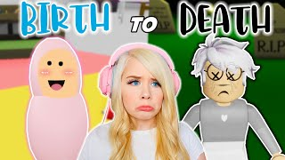 BIRTH TO DEATH IN BROOKHAVEN! (ROBLOX BROOKHAVEN RP)