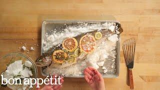 How to Make Salt-Baked Salmon