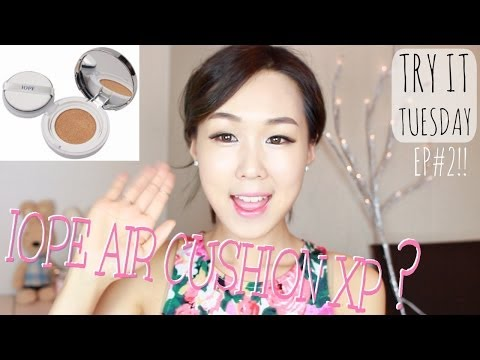IOPE Air Cushion XP Review! 아이오페 비비쿠션 리뷰 #TryItTuesday