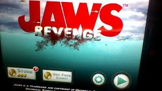 Playing Jaws revenge the game