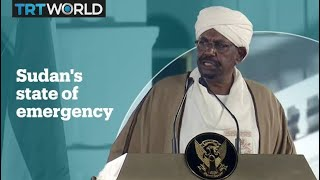 Sudan's president declares state of emergency