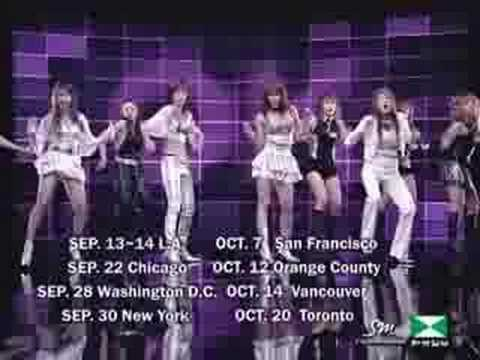 2007 SM Entertianment Global Auditions.
