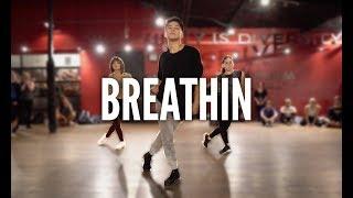 ARIANA GRANDE - Breathin | Kyle Hanagami Choreography