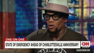 D.L. Hughley explains why white men don't get to decide what racism is