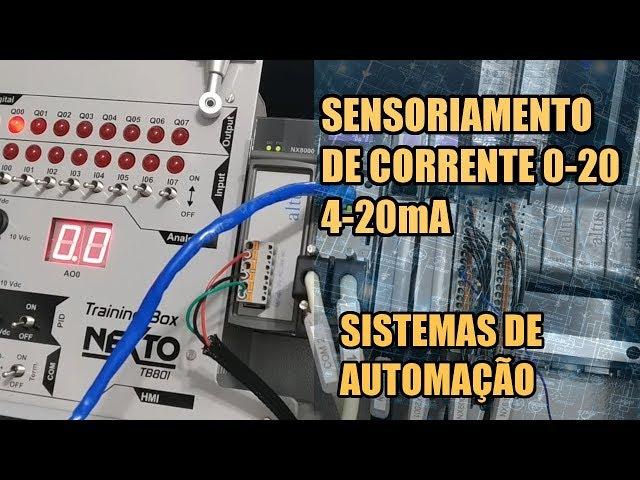 SENSORIAMENTO DE CORRENTE COM CLP NEXTO | Sistemas de Automação #025