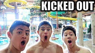 EPIC INDOOR WATER PARK! *KICKED OUT*
