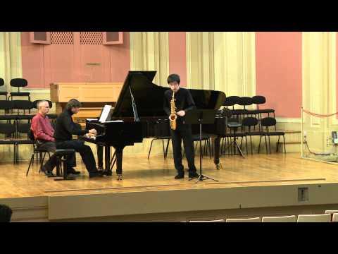 Edison Denisov - Sonate - Hanchao Jiang 姜汉超 - Juan David Molano