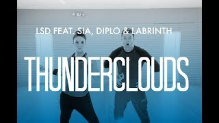 'Thunderclouds (feat. SIA, Diplo & Labyrinth)' / LSD / Cardio Dance Fitness / HIT THE FLOOR