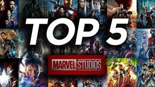 Top 5  - I migliori film del Marvel Cinematic Universe