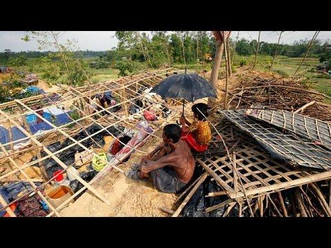 إعصار مورا يشرد اللاجئين الروهينغا في بنغلادش