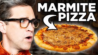 Marmite Pizza Taste Test
