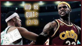 "The Game Lebron James ""Quit"" & The Celtics ""Broke"" Him"