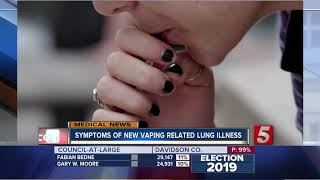 10 people treated in Tennessee for vaping-related illness