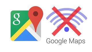 Cách dùng Bản đồ Google Maps không cần internet