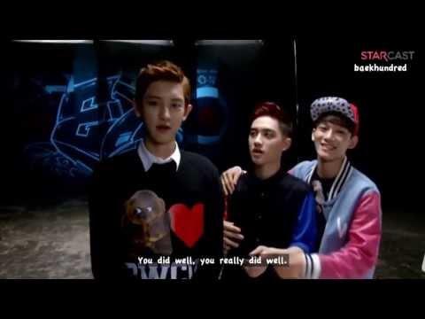 [ENG SUB] EXO (엑소)  - Growl (으르렁) Making MV (720p)