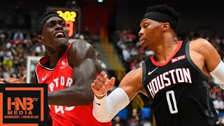 Houston Rockets vs Toronto Raptors - Full Game Highlights | October 8, 2019 NBA Preseason