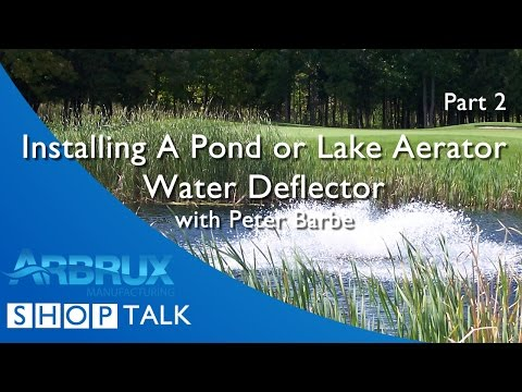 How to Install a Water Deflector on Your Pond Aerator - Part 2