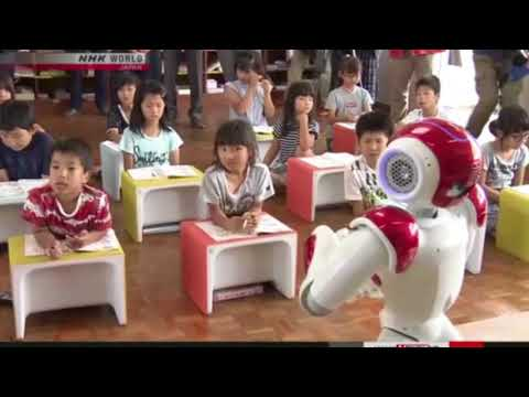 Japan to use AI robots in English classes
