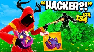 I Trolled Him With NEW Thermal Fish.. (Fortnite)