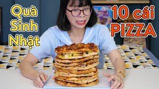 Được TBB Thúi Tặng Bánh Pizza 10 Tầng Ngày Sinh Nhật